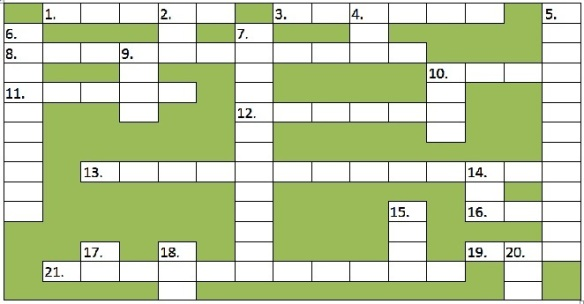 Green Crossword - no answers