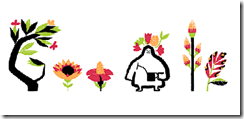 Google First Day of Spring Doodle - End