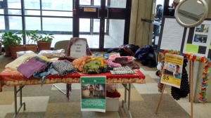 Scarves for Syria, Scott Library, York University
