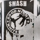 "Vandalised ""Smash Fascism"" Poster 1"