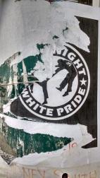 "Vandalised ""Smash Fascism"" Poster 2"