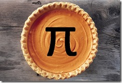 Pie with pi